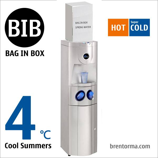ALPHA 1 Featured Freestanding Hot and Cold Bag in Box BIB Water Cooler
