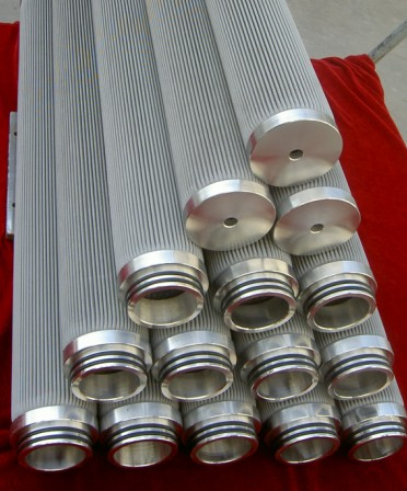 SS woven mesh Filter Cylinder, candle filter element