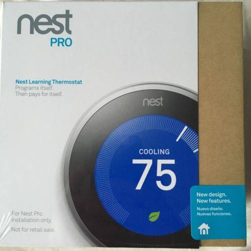 Nest Pro Learning Thermostat 3rd Generation - T3008US