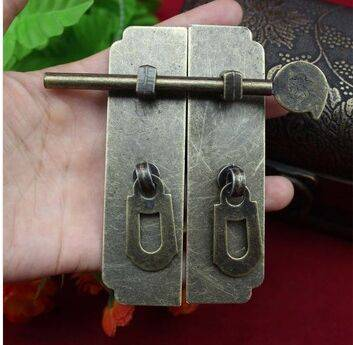 cabinet hardware Home Improvement Hardware Cabinet Box buckle clasp antique door latch buckle clasp