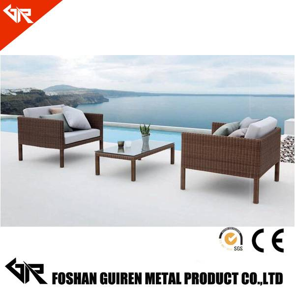 outdoor rattan sofa bed