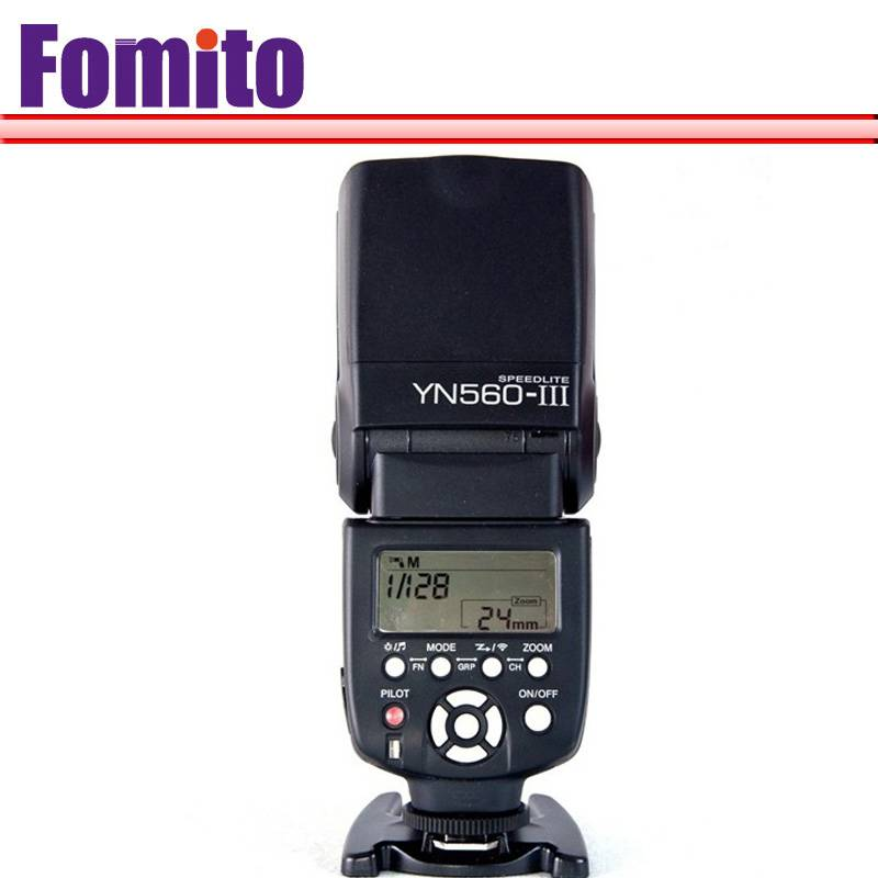 Fomito Yongnuo YN-560 III YN560III for Nikon for Canon Camera flash speedlite