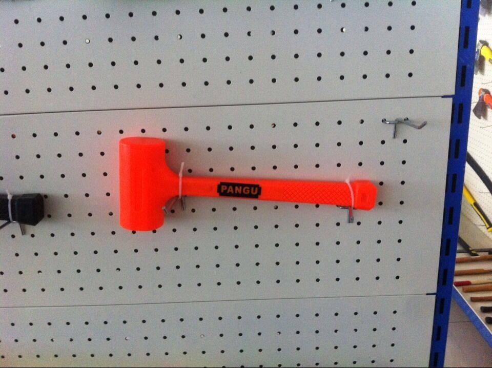 No rebound hammer installation