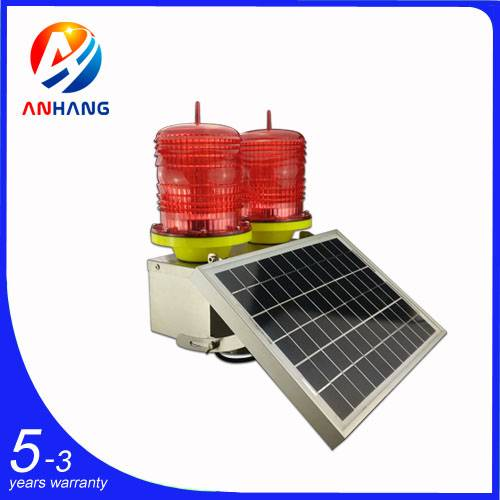 AH-LS/D Low-intensity Double Solar Powered Aviation Obstruction Light