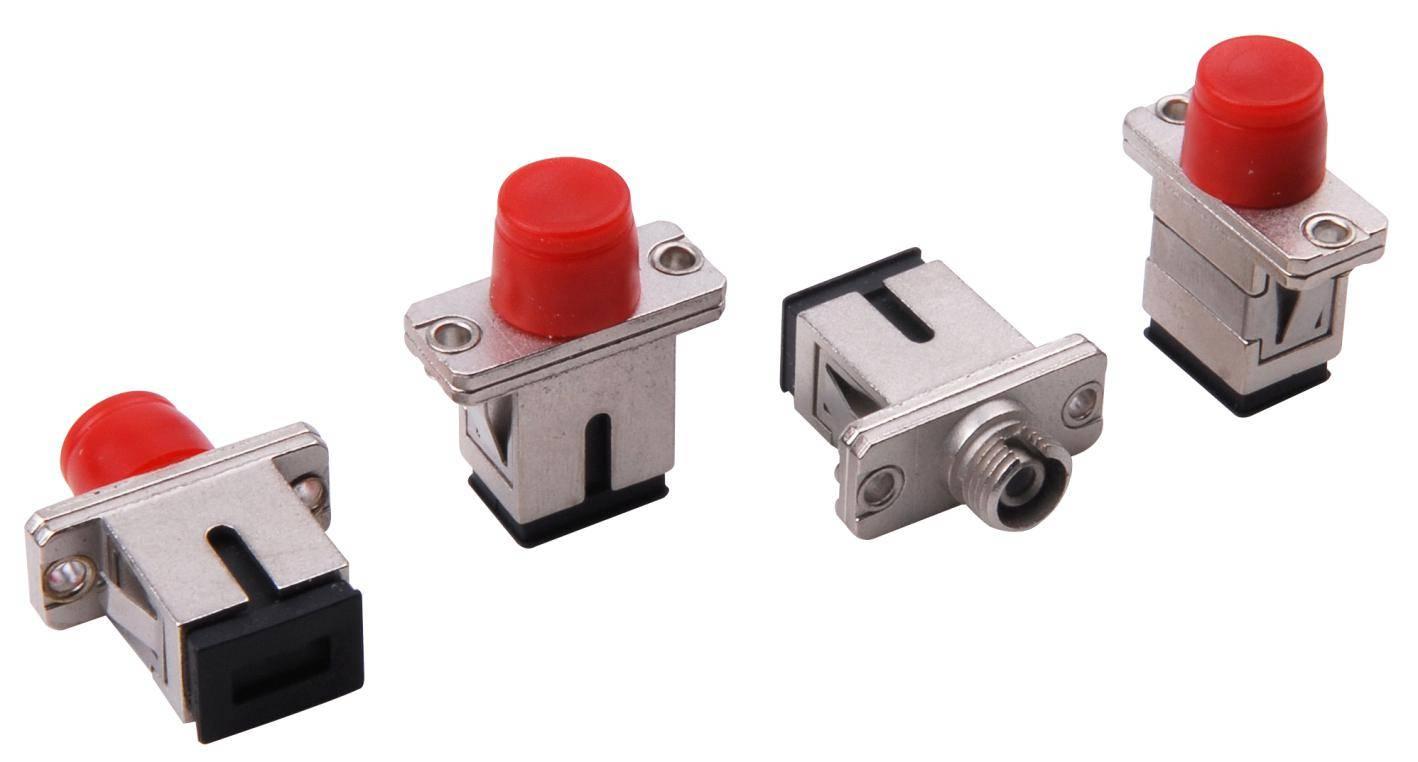 Fiber optic adapter SC/FC SX