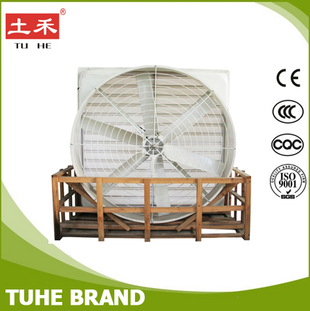 Frp sheet 57 inch chicken fan for animal house in foshan tuhe