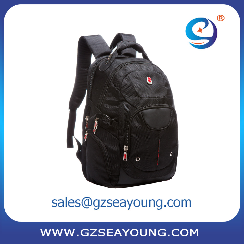 Latest design bag fashionable teenagers contracted style laptop backpack