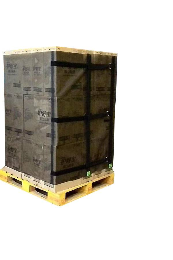 alternative to stretch film and reusable pallet wraps