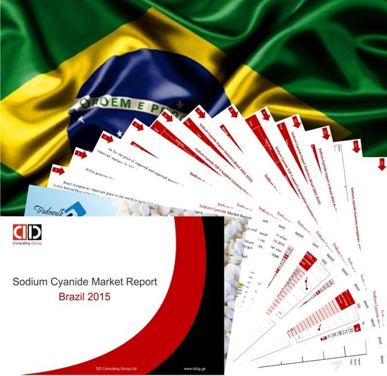Sodium Cyanide Annual Summery Market Report - BRAZIL 2015