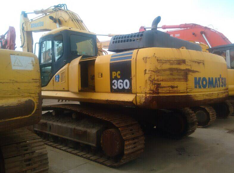 Used Japan Original Komatsu PC360-7 Crawler Excavator