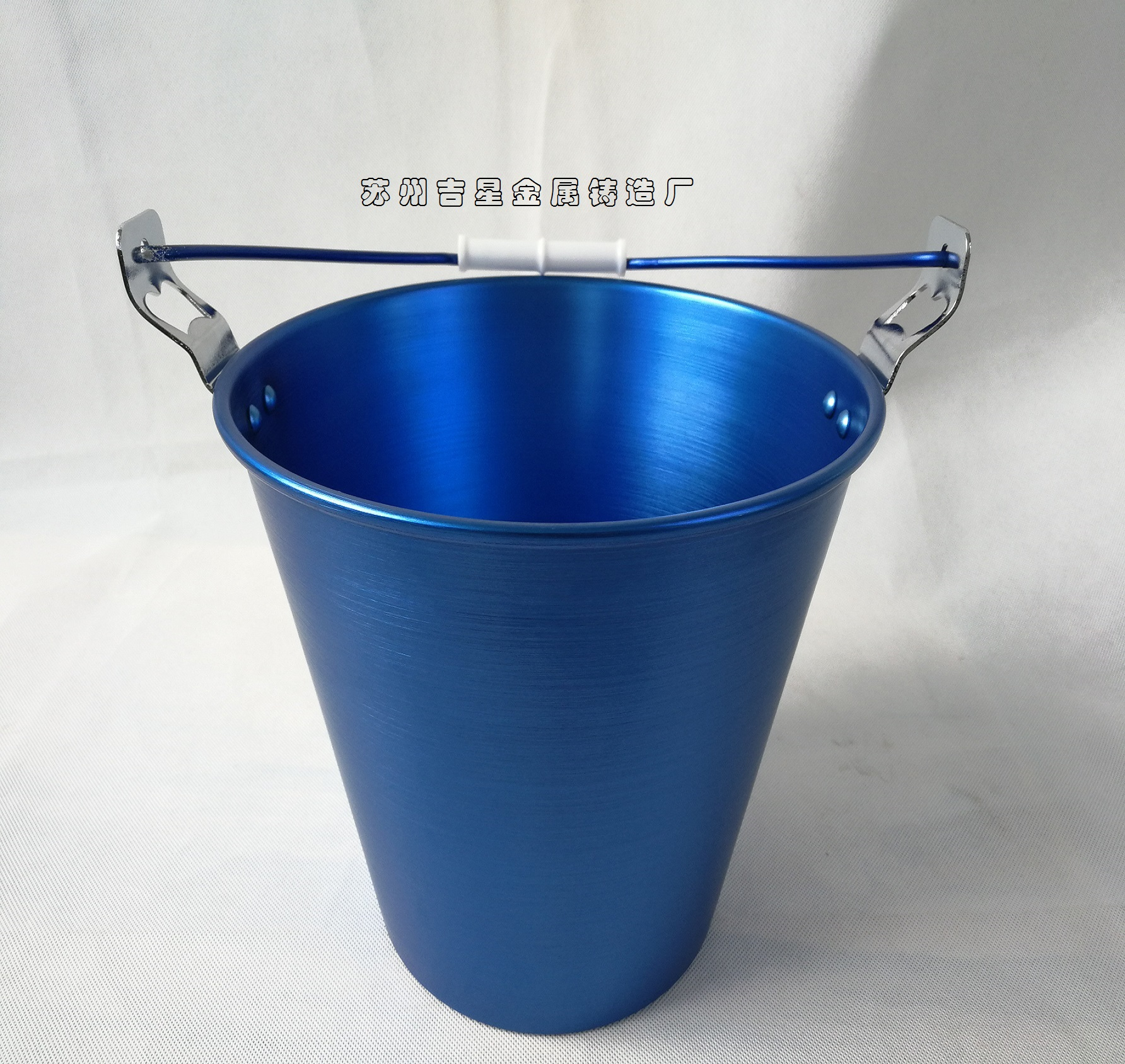 High Quality Blue Aluminum Ice Bucket with Bottle Openers Bar006