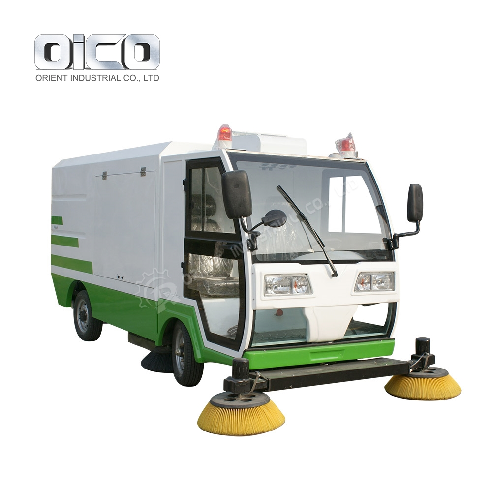 S2000 pure vacuum street sweeper /pavement sweeper truck/road sweeper cleaning truck
