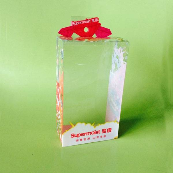 clear pvc box for cosmetic