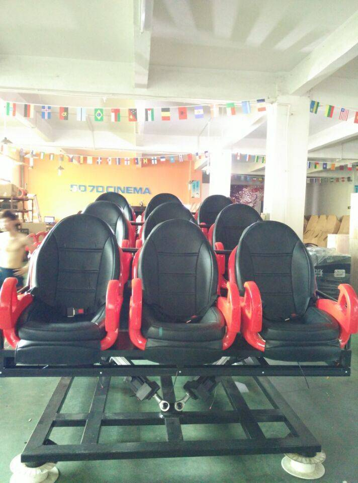 Amusement Park equipment truck mobile mini 5d cinema with cabin 7d cinema