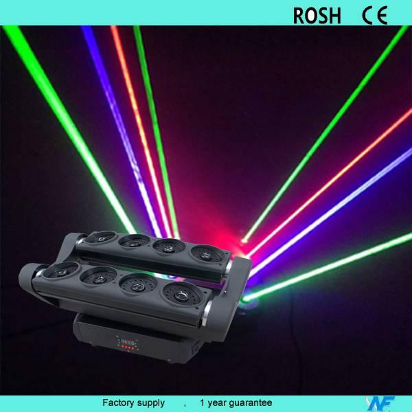 RGB Laser spider moving head light