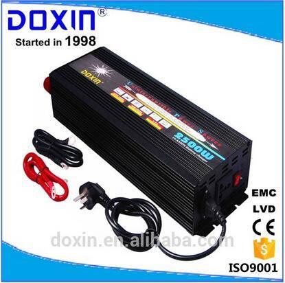 Doxin 2500w solar power inverter ups home use dc12 v ac 220v