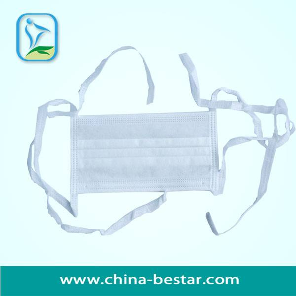3-Ply Non-Woven Face Mask With Easy Tie
