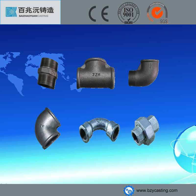 malleable cast iron drain pipe fittings