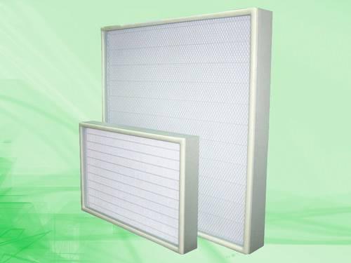 Mini-pleat Ultra Low Penetration Air filter (ULPA)