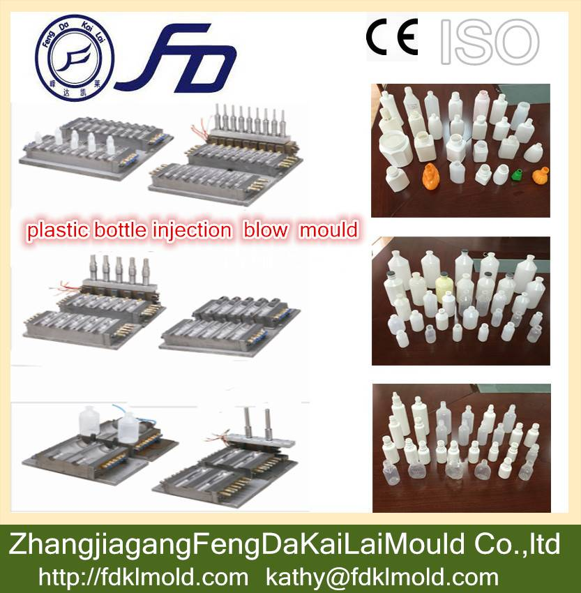 China supplier FD manufacturing plastic bottle injection blow mould/mold