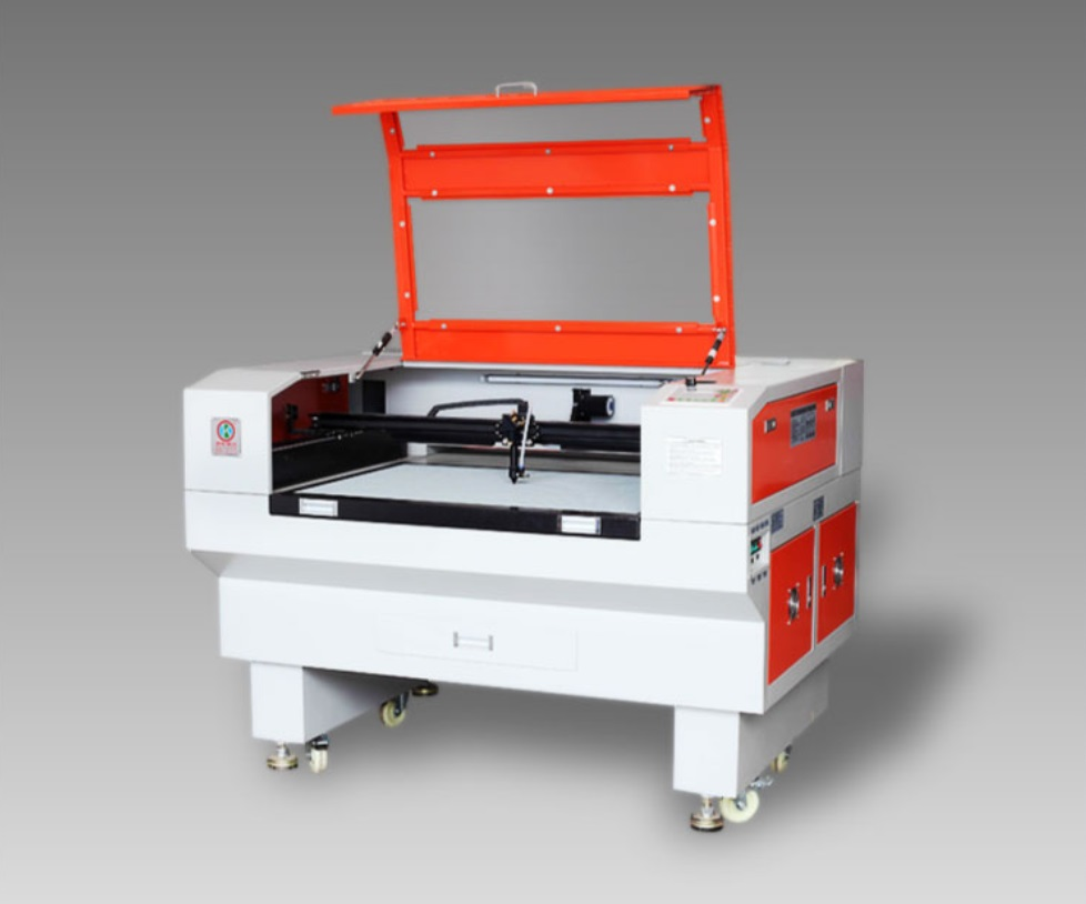 double laser heads 100W co2 laser cutting machine,laser engraving machine