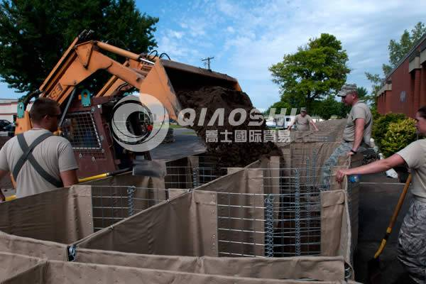 Gabion Barriers for Defense
