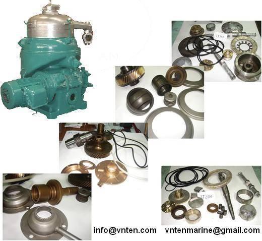 Purifier & Clarifier parts