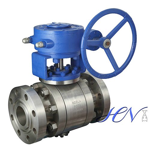 Trunnion Mounted SS F304 Forged Ball Valve