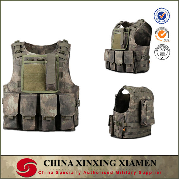 A-TACS multicam camo combat vest for outdoor gaming and army high standard
