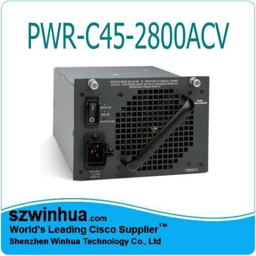 Brand New Original Cisco Catalyst 4500 PWR-C45-2800ACV