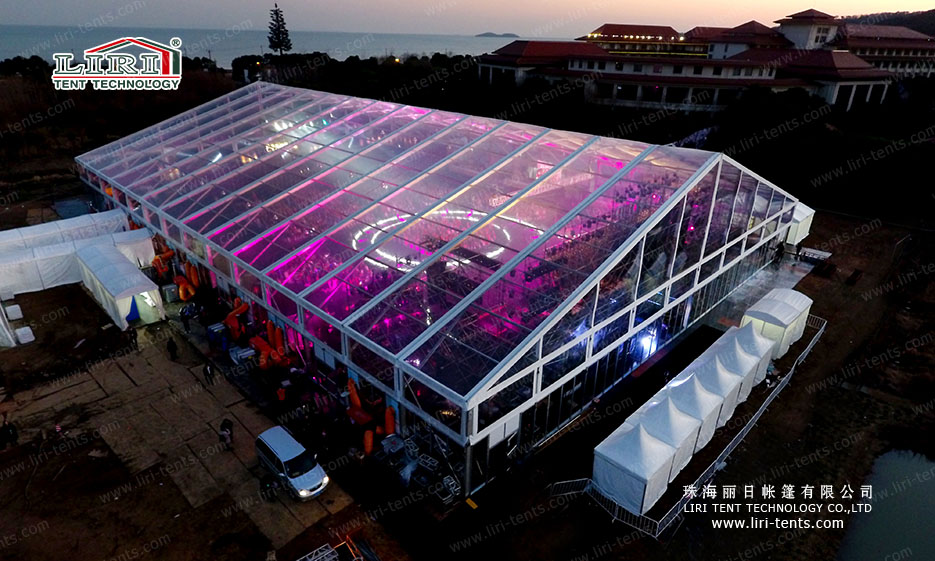 Big Party Tent with Lighting System for 5000 People