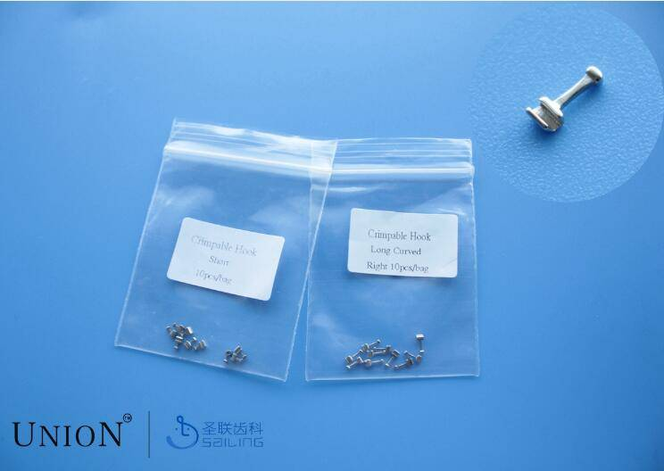 Crimpable Hooks,Lingual Buttons, Cleats,etc.--inner oral products,Orthodontic Products