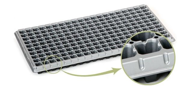 Silver Silicon Tray