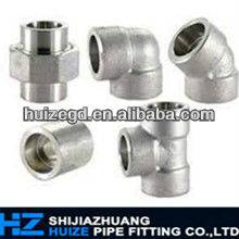 ASTM A234 WPB butt welding stainless steel pipe fitting