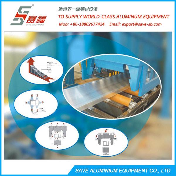 Aluminium Extrusion Profile Air Quench