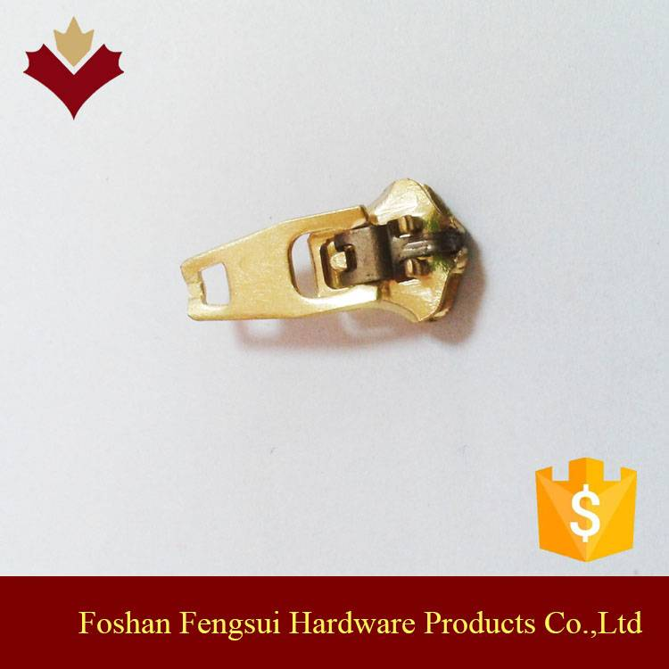 Fashion design zipper parts,zipper slider pulls for handbag,luggage