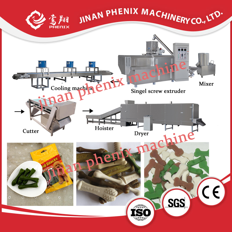 nutrition pet dog treats food extruder making machine