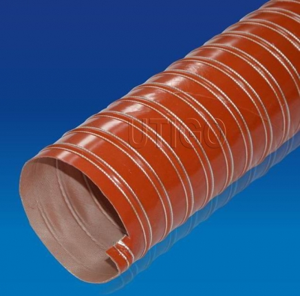 Silicone Coated Glass Fiber Duct
