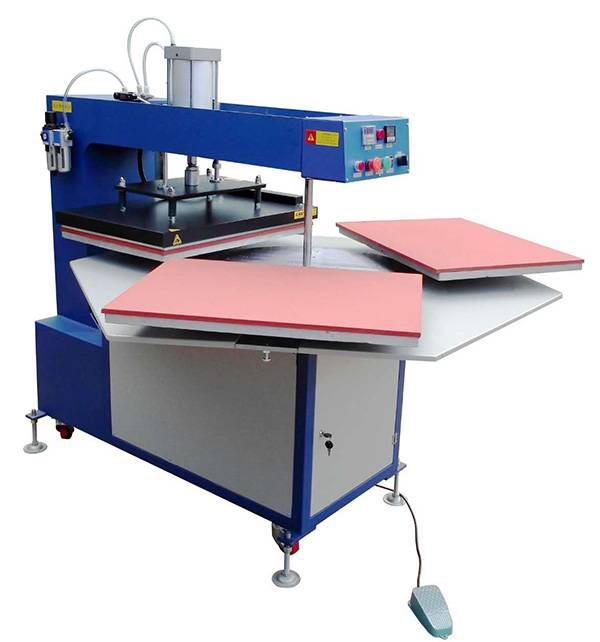 40x60CM Pneumatic Heat Rosin Press Transfer Vinyl Printing Machine in Indonesia PE4060