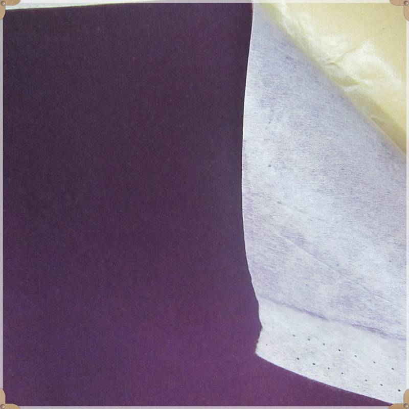 Self-adhesive flocking fabric