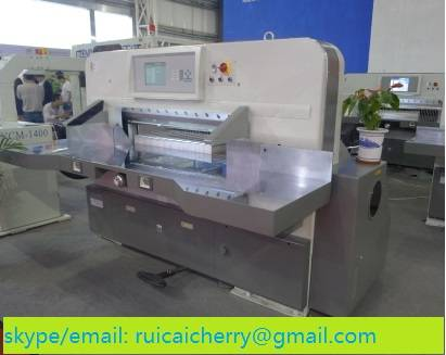 QZK1300M10 Heavy Duty Cut Paper Cutting Guillotine Machine