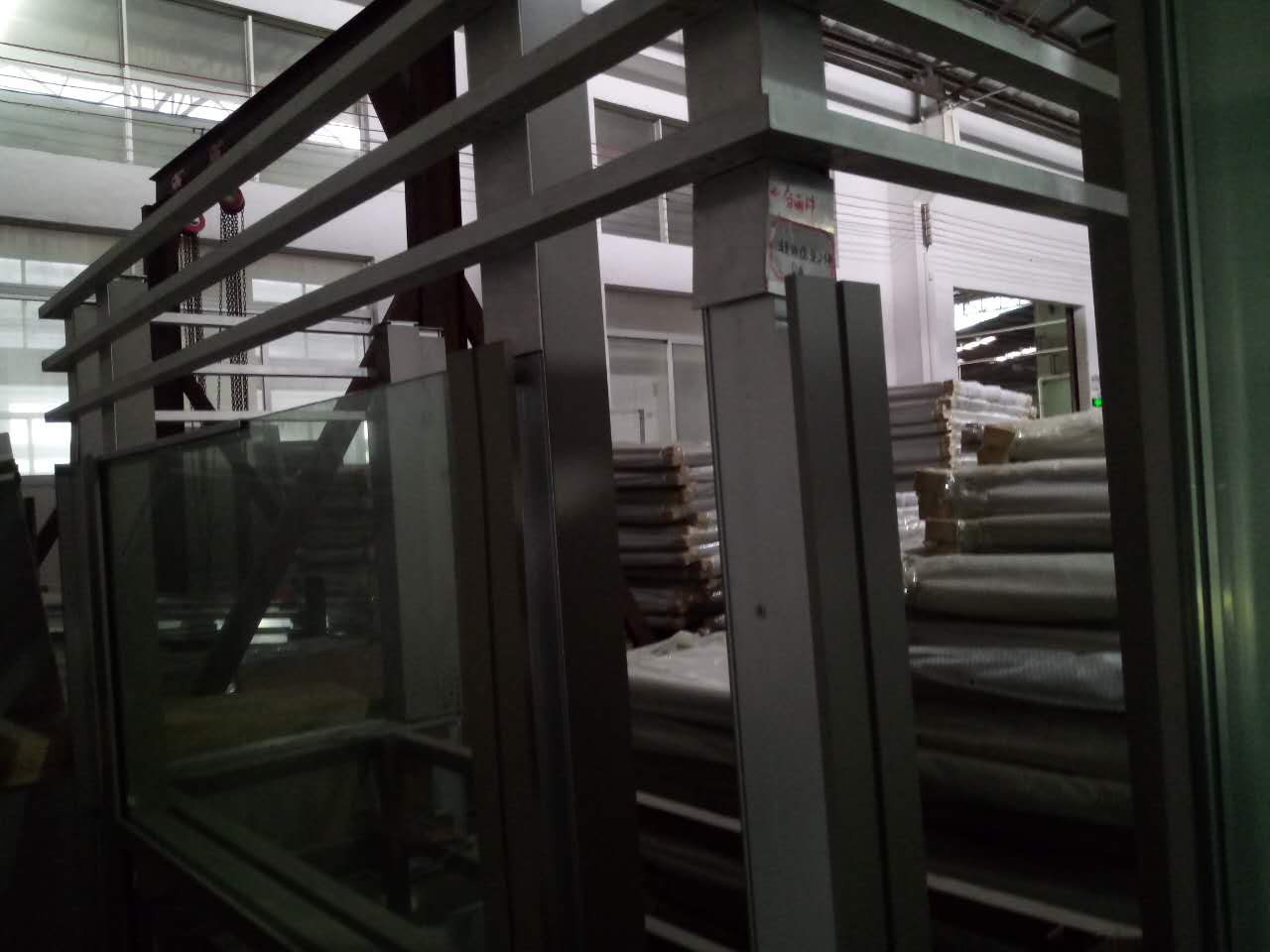 Aluminum balcony guardrail