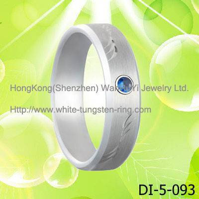 Latest Tungsten Steel Ring  for Women