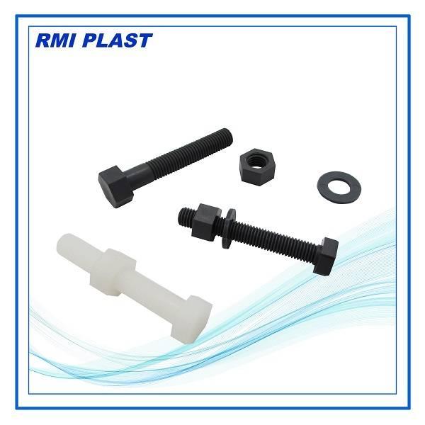 PVC,PP,Nylon,PVDF plastic bolt, nut, screws