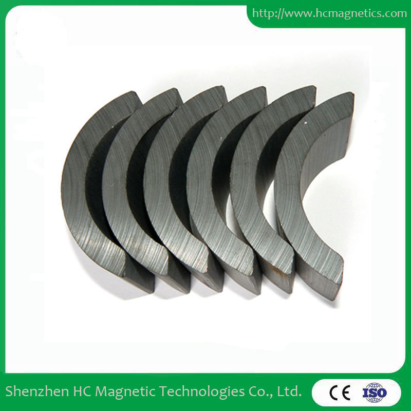 Arc high performance ferrite magnets