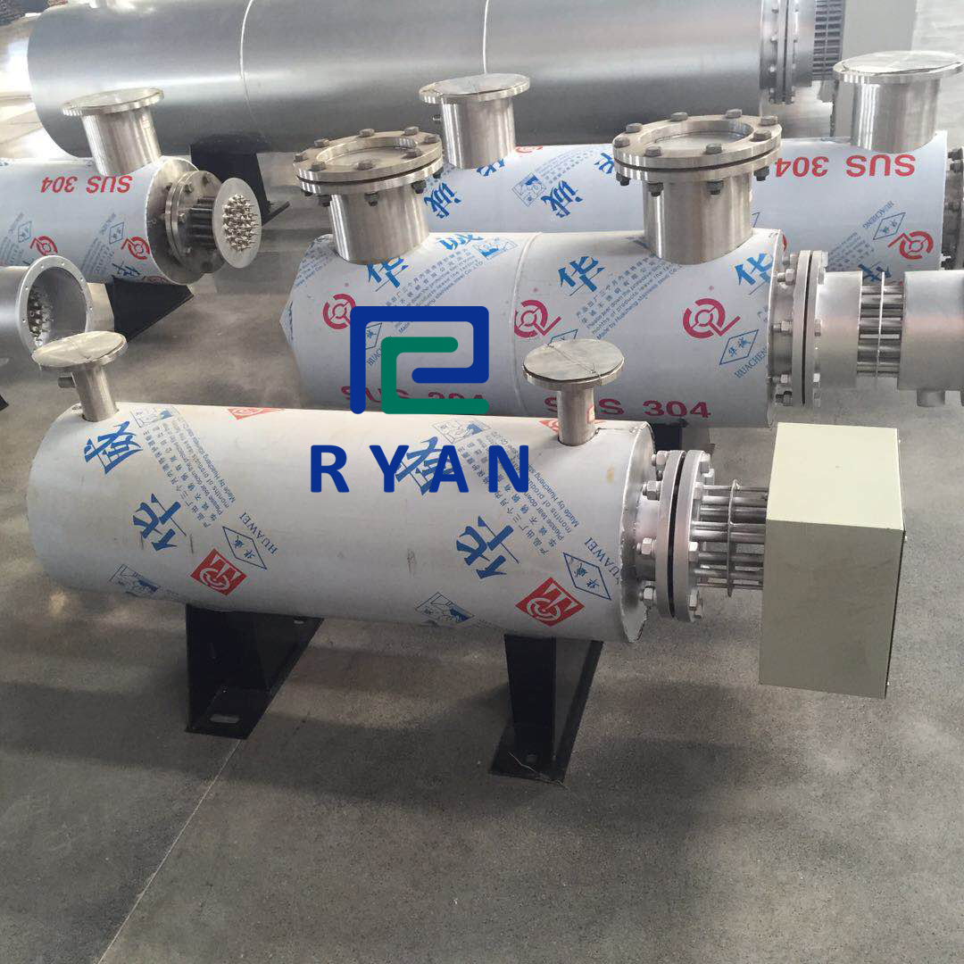 Pipe type electric air heater