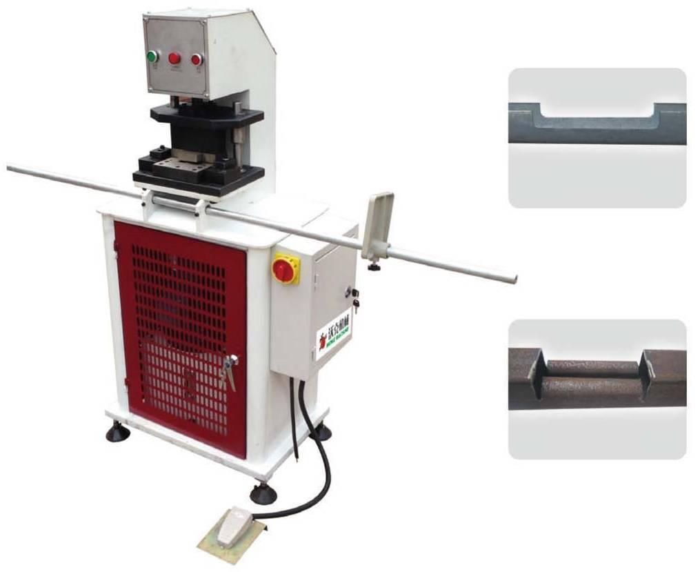 Hydraulic punching and shearing machine