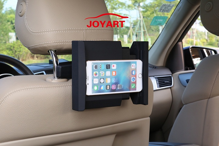 Rotatable Headrest Mount / in-Car Holder Cradle for iPad
