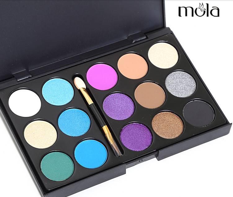 15 colors eyeshadow palette