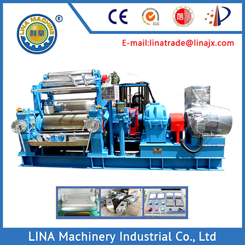 18 Inch Open Mixing Mill for Rubber Compound Making Production Line